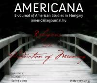 Volume V, Number 1, Spring 2009